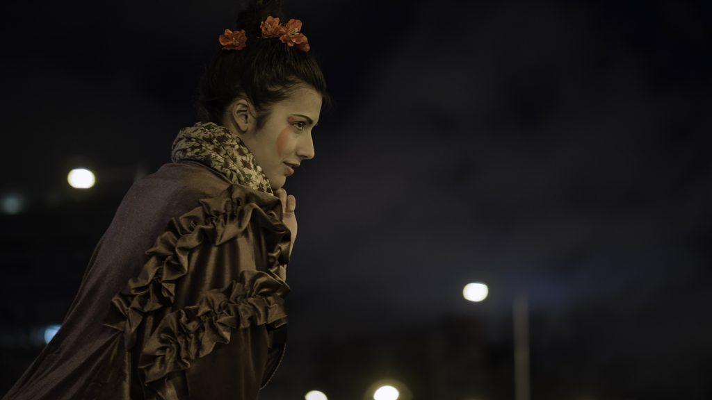 ANDREA PERALTA en Plaza de Colon