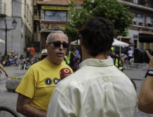 PROTESTA CICLISTA EN CERCEDILLA – IMBA